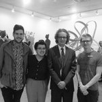 TRUSU Reps at the #mytru BFA graduating exhibit! Congrats to all the grads! http://t.co/9nhFm2uPlx