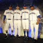 Get your first look at the new #Mariners home alternate uniform this Sunday. Tickets: http://t.co/6fahWCuxmS http://t.co/KK0nTYYTP9