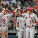 Mike Trout, you are ridiculous. Trout hits his 100th and 101st career home runs as Angels beat Astros, 6-3.