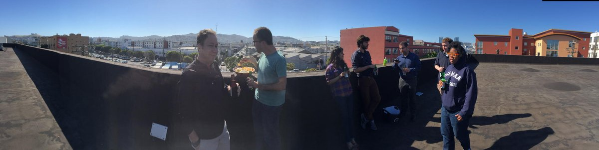 Great eng all hands followed by rooftop beers @euclidanalytics http://t.co/lHt2Mmn6M2