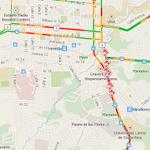Ingreso a Heredia con problemas por choque de vehículos y tren #traficocr http://t.co/xrNc6kw6qT