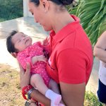 La pequeña Nataly me dio la bienvenida en la caminata de esta tarde en #FelipeCarrilloPuerto #CuentanConmigo #AMDía13 http://t.co/dl4uM5glPN