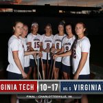 Final: No. 5 #UVaWLax downs Virginia Tech, 17-10. Casey Bocklet with six goals and an assist. #CommonwealthClash http://t.co/cKvy24K93l