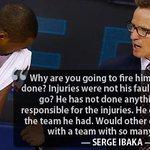 Serge Ibaka on Scott Brooks. http://t.co/HqDANvUvnL http://t.co/mD0mcxhbZa