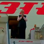 PM Narendra Modi arrives in New Delhi after his 3 nation tour (France, Germany & Canada) http://t.co/aBrf39oh0a