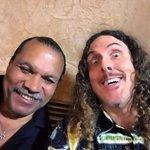 Lando selfie!  #StarWarsCelebration @realbdw @coolwatersprods http://t.co/EOBLU2IUFW