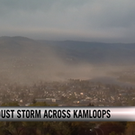 HAPPENING NOW: Dust storm covers #Kamloops | VIDEO: http://t.co/sWOYHqLY48 http://t.co/8dF36OYqVa