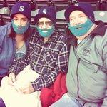A generation of beards times 3 @Mariners game tonight! Happy 93rd birthday Gpa! #beardme http://t.co/kqTjhmGhVD