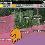 Severe Thunderstorm Watch until 2 AM for Chambers, Liberty, Hardin, Jefferson & Orange Counties until 2 AM. http://t.co/ceJVDVFcds