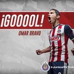 65 ¡¡¡Goooool de Omar Bravo a segundo poste!!! Xolos 1-1 Chivas. #JuntosVsTodo http://t.co/iejSvOlQ5f