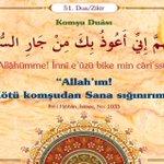 """""""Allah'ım! Kötü komşudan Sana sığınırım.""""  İbn-i Hıbbân, İstiaze, No: 1033 #Hadis http://t.co/PYdFVaacNp"""
