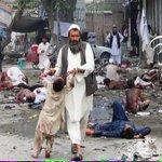 #AFG Cruel terrorist attack against civilians in #Jalalabad, #Afghanistan killed more than 35, injured 100 http://t.co/nDsJjA0ukp