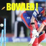 RT @cricketnext: #IPL8: Here is how @DelhiDaredevils captain @jpduminy21 was bowled by @DaleSteyn62. http://t.co/3CUtypy78y   #SRHvsDD http…