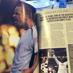 PHOTO: Nice feature on #Swans legend @LeeTrundle10 in todays programme. #LEISWA http://t.co/BVHg0Kab9L
