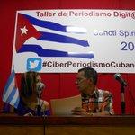Moderadores del taller #CiberPeriodismoCubano se preparan para el debate http://t.co/YVCD5LWdTF