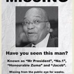 South African Pres Zuma absent as Xenophobia rages through the country!!! SayNoToXenophobia! #ZumaMustFall http://t.co/si2LEz1aBz