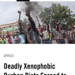 My photo of yesterdays #Xenophobia violence in #Jeppestown on Vice News. #XenophobiaMustFall http://t.co/wh6ZRMxvlQ