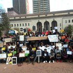 The Silent Protest against the xenophobic attacks has started at the Library Gardens in Joburg CBD #Sabcnews http://t.co/8KG738UtRk