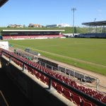 A beautiful morning at Sixfields. 3pm kick off today, come and join us! Under 7s go free! #ProudToBe http://t.co/9K0tQYENoj