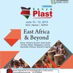 #KenyaPlast 2015 at K.I.C.C.,Nairobi,Kenya on 10 to 12 Jun 2015. http://t.co/Q2wHgwFqVt  http://t.co/5fxPY6UYgV