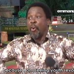 Watch: Prophet TB Joshuas 2013 prophecy on xenophobic attacks in South Africa http://t.co/L36dWHWzLe http://t.co/4uC1AUWtL0