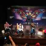 Maria Pomianowska Showing Suka to the audience .Amazing Instrument. #MusicMela @USCGLahore @usembislamabad #mm15 http://t.co/GLMWID00N8
