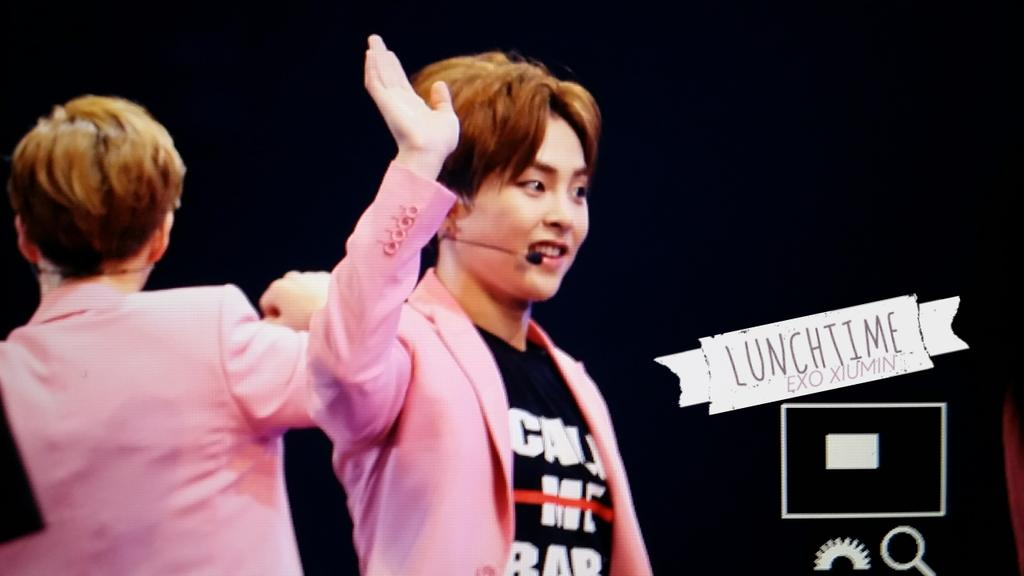 LUNCHTIME  150418        Xiumin
