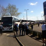 More than 50 coaches ready to go to Wembley!  #WembleyRoyals http://t.co/dHZmpNII5h