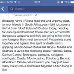 """Nee man, RSA, this is bullshit! """"@De__Fatima: God please protect our Namibian and African brothers and sisters http://t.co/1XCzkXPbb0"""""""