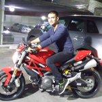 Fiery Red Ducati Monster... Vroom Vrooom...
