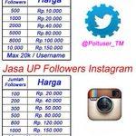 Jasa UP Followers Twitter & Instagram #TonightScreen2015 #PRIDEdiOFFairSCTV PSSI #WegoHangout #CallMeBaby10thWin http://t.co/qOKz9tTM9y