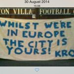 Vile fans giving it City is yours while they at Wembley well we did it 1st remember this #bcfc http://t.co/5yZ8CI5a3h