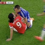 """Terry: """"It's called football."""" Falcao: """"No, fútbol."""" Terry: """"You bastard."""" *fight happens* http://t.co/U4A2Bnaz3s"""