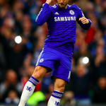 Half time at Stamford Bridge: Chelsea 1 - 0 Manchester United. #CFC #MUFC http://t.co/8q0kyCA8iy