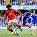 HALF-TIME: @ChelseaFC 1-0 Man Utd. #CFCLive http://t.co/ICguhpuCbw