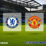 KICK-OFF Were under way at an expectant Stamford Bridge. Its Chelsea v Man Utd. Join us: http://t.co/5vCtFIqf09 http://t.co/9L8VLCkwmY