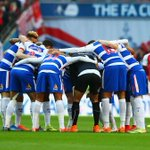 """@ReadingFC: #WembleyRoyals huddling before kick off http://t.co/oS3hpYvPP6""  Come On Reading!"
