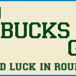 Playoff basketball return to #MKE tonight! Good luck in round 1, @Bucks! http://t.co/iMx9vcGfgc