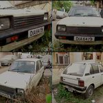 Visuals of the first Maruti 800 car in an abandoned state outside the deceased owners house in Green Park (Delhi). http://t.co/hkbzwqjMTE