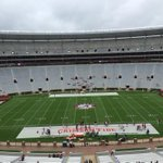 The skies in Tuscaloosa havent opened yet, but it is gloomy. A-Day kicks off in two hours. http://t.co/MPmqG1anOl