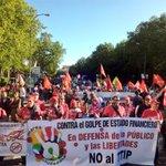 Con @cocacolaenlucha y muchas más en #Madrid #18A #OccupyTTIP Contra el golpe de estado financiero y empresarial http://t.co/N4kf4jQKob