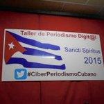 Entre las 8 y 9 de la mañana se generaron 144 tuits con la etiqueta #CiberPeriodismoCubano http://t.co/eLcGOhAFuH