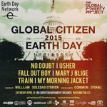 RT @MatthewSantoro: Can't make it to #GlobalCitizenEarthDay? Make sure to tune into the live stream here! http://t.co/mOUcvviera