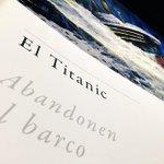 En la exposición #HombresDeLaMarBarcosDeLeyenda en el @Museo_Naval de #Madrid en #Titanic de @perezreverte http://t.co/jAMSxpiihp