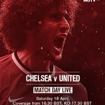 Get the best build-up to Chelsea vs United on #MUTV from 16:30 BST: http://t.co/i4LDLrTYkC http://t.co/9yL8imrZ0X