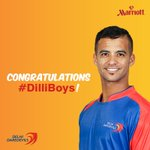 What a win! Brilliantly played #dilliboys. ???????? #MarriottIndia #DDvsSRH #MarriottLive #ipl #DD @DelhiDaredevils http://t.co/aN7PnnGk1O