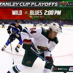 Game 2 is at 2! Whos ready for some more #STLvsMIN action on @NBC and @KFAN1003? #mnwild http://t.co/U7ZARyN7c9