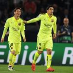 Lionel Messi and Luis Suarez are at it again. Barcelona score after 56 secs against Valencia http://t.co/ur6QUHXhje http://t.co/T2qpyYl7AL