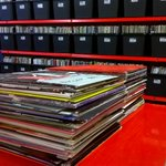 35000 Records + 2 more piles in the racks here @ Therapy HQ near #Sheffield #Nottingham on #RecordStoreDay #vinyl http://t.co/E3EZDzQ3zn