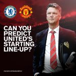 Last chance to predict #mufcs starting XI – http://t.co/BM1bmEANDA – ahead of team news at 16:30 BST. http://t.co/YjbiuJZOFx
